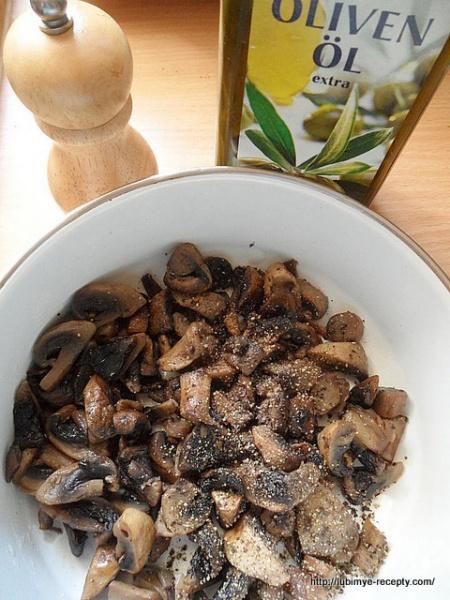 Американская кухня - сконы с грибами