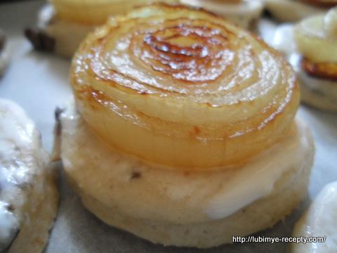 Американская кухня - сконы с грибами 8