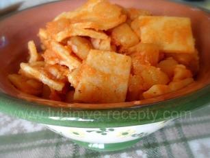 Макароны с картошкой