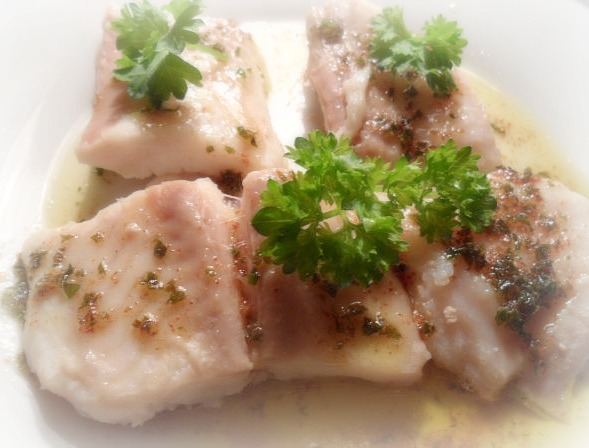 Венгерская кухня. Рыба отварная по-особому