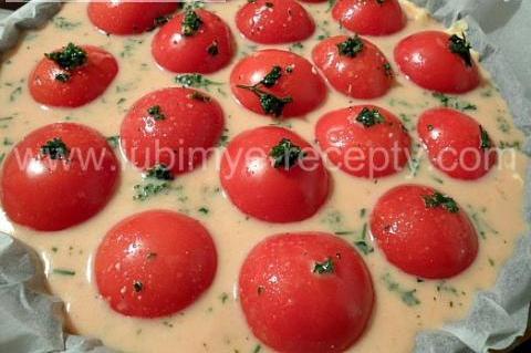 Запеканка с курицей и помидорами  1