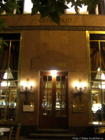 Кафе Жербо в Будапеште