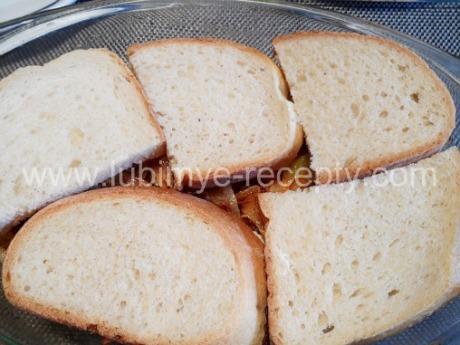 Запеканка с белым хлебом2