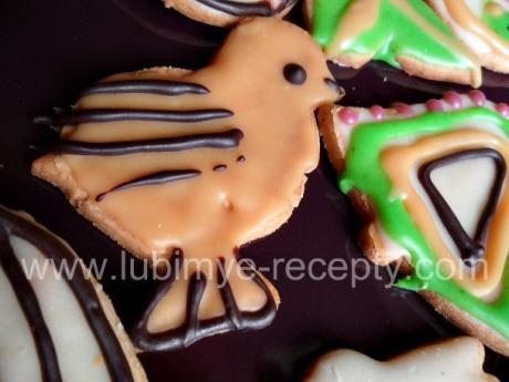 Печенье с рисунком 7