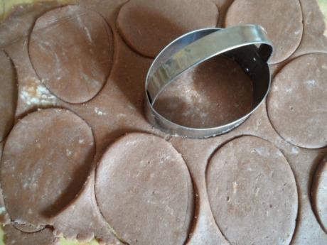 Печенье в форме яиц 4