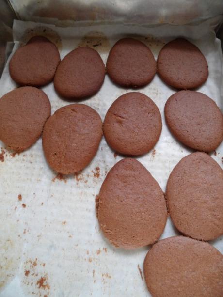 Печенье в форме яиц 5