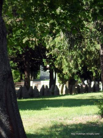 Венгрия, г.Сомбатхэй, военное кладбище