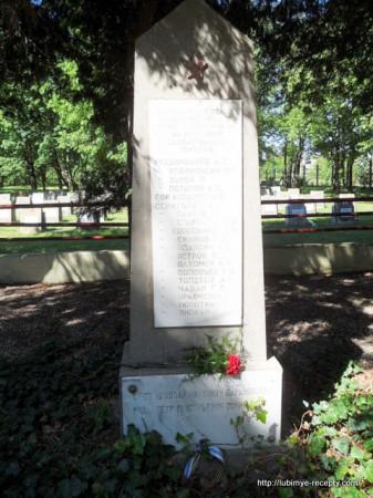 Памятник советским офицерам