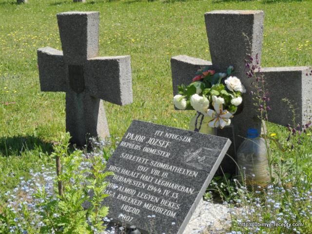 Венгрия, г.Сомбатхэй, военное венгерское кладбище