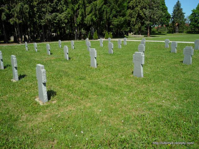 Венгрия, г.Сомбатхэй, военное немецкое кладбище