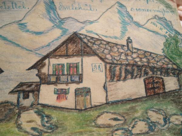 Венгерская открытка