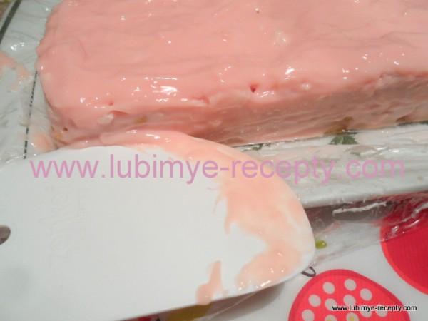 """Простой торт """"Для Графини"""" с печеньем и творожно-йогуртовым кремом"""