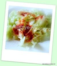 Рецепт зелёного салата 1
