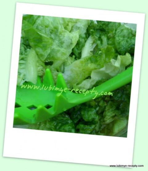 Рецепт зелёного салата