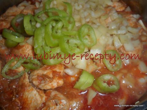 Венгерская кухня - паприкаш из курицы 3