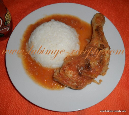 Курица в лечо-соусе из болгарского перца или Lecsos csirke по-венгерски