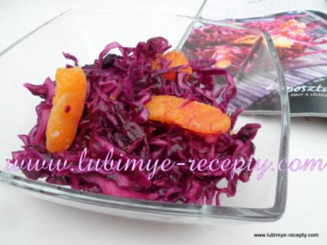 Салат из красной капусты2