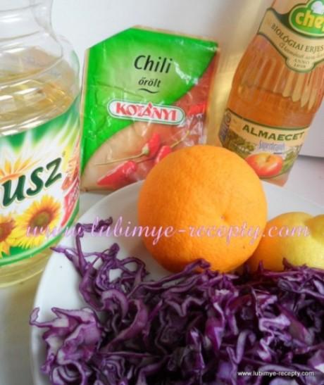 Салат из красной капусты3