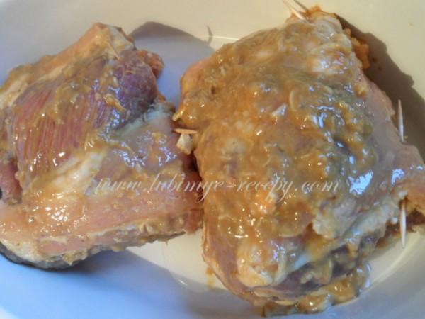 рецепт Свиные рёбрышки с карманом по-венгерски
