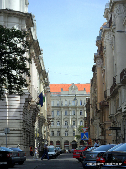 улица возле Парламента,  Будапешт