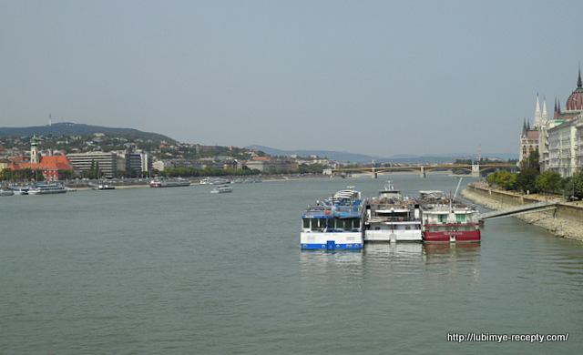 Дунай с моста