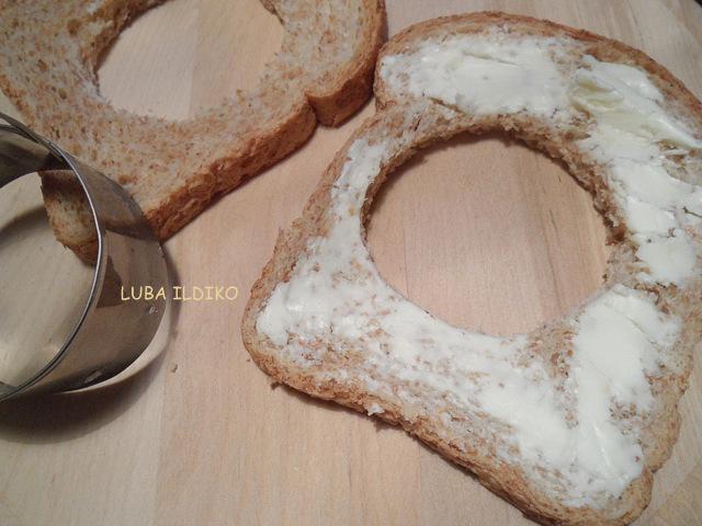 хлеб, масло