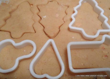 Рождественское ореховое печенье 2