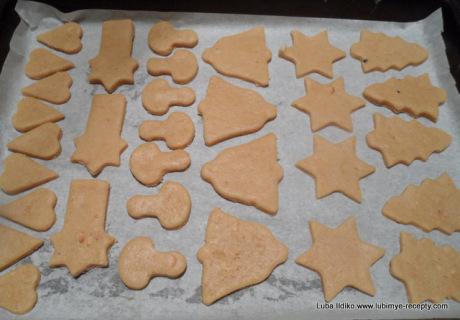 Рождественское ореховое печенье 3