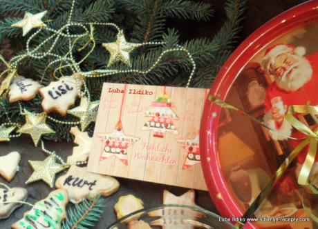 Рождественское ореховое печенье 5