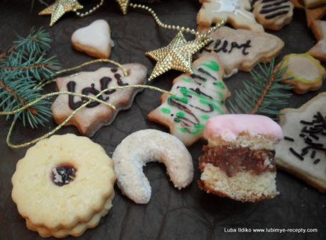 Рождественское ореховое печенье 6