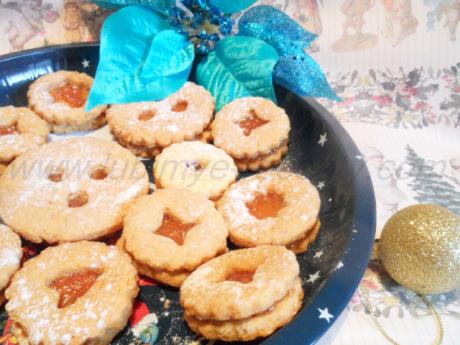 Рождественское печенье Линзер 1