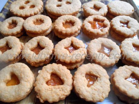 Рождественское печенье Линзер