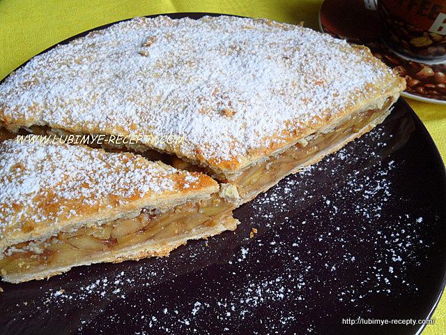 Вкусный яблочный пирог 2