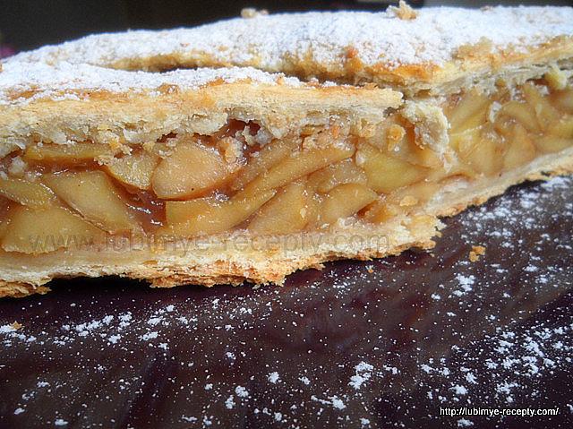 Вкусный яблочный пирог 1