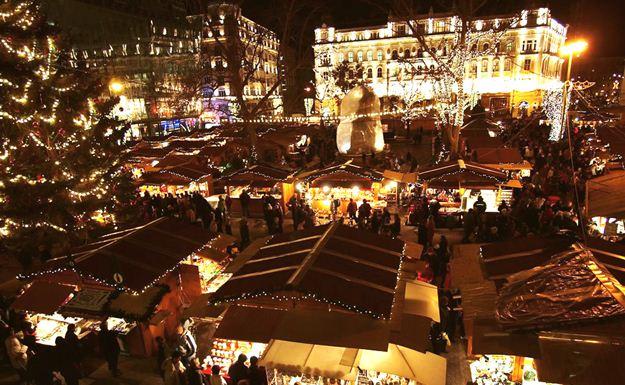 Рождество  в Будапеште