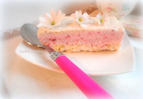 Итальянский десерт Семифреддо с клубникой 1