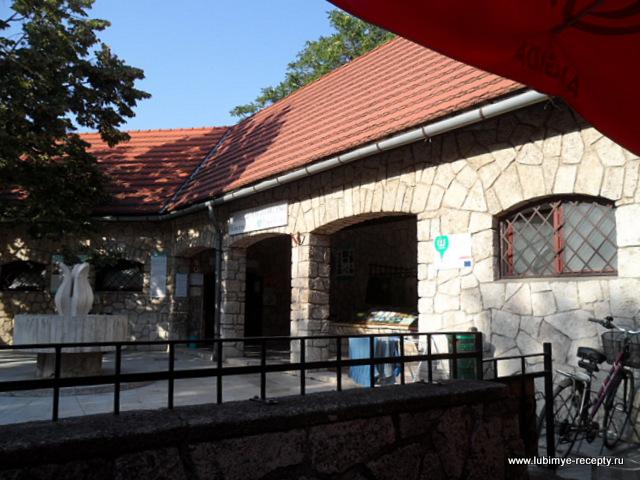 Венгрия.Таполца.Подземное озеро