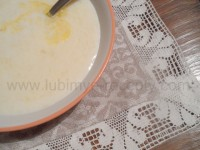 рецепт Белорусская кухня. Молочный суп или Затирка.