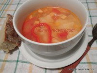 Венгерский суп Леббенч со шкварками