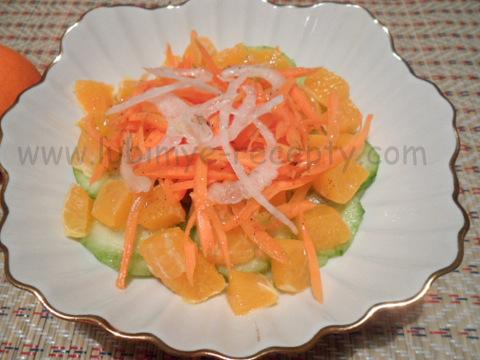 Фруктово-овощной салат 2
