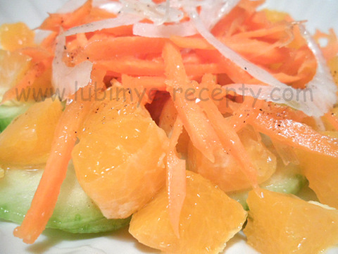 Фруктово-овощной салат 3