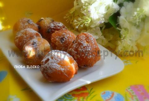 Пончики дрожжевые 2