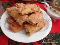 Венгерские блинчики с мясом и под соусом по-хортобадьски