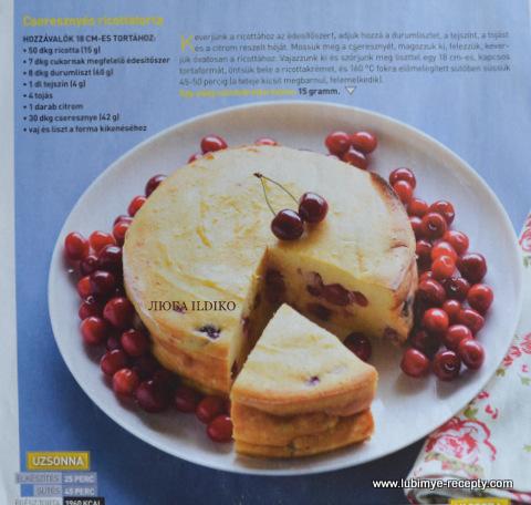 Tvorozhnyj tort s chereshnej 1