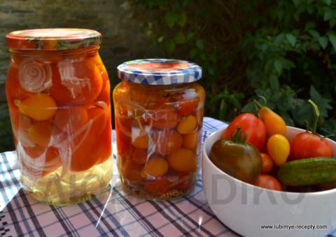 Вкусных маринованных помидор