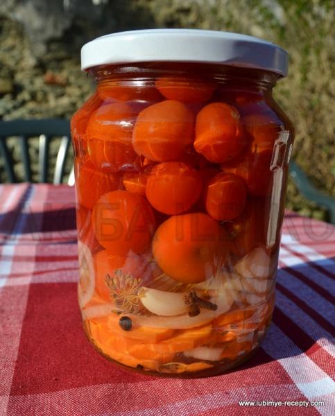 Recept marinovannyh pomidor