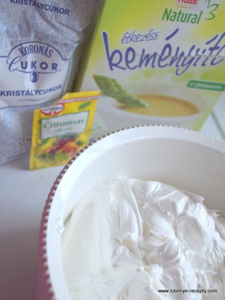Recept tort beze