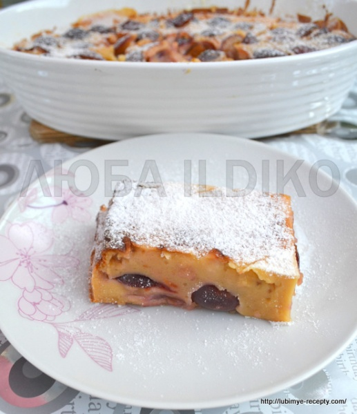 Французский десерт - клафути 8
