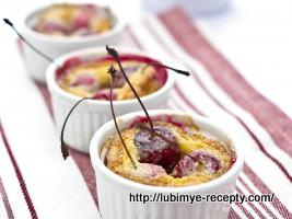 Французский десерт - клафути 1