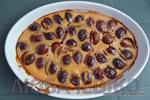 Французский десерт - клафути 7
